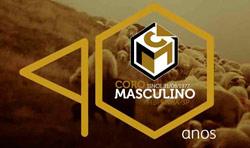 Logotipo dos 40 anos do Coro Masculino - 2017